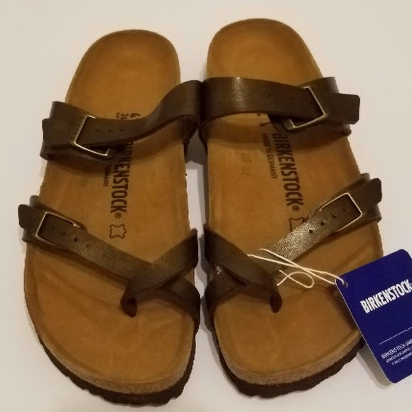 birkenstock mayari  toffee size 36 41 new with box